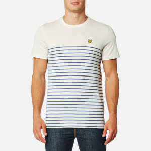 Lyle & Scott Men's Breton T-Shirt - Storm Blue