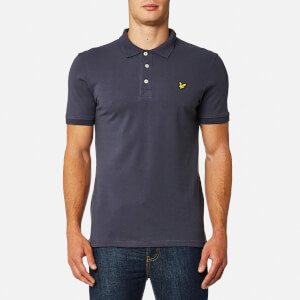 Lyle & Scott Men's Pick Stitch Polo Shirt - Washed Grey