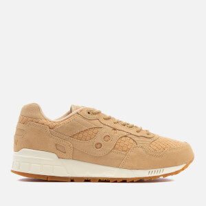 Saucony Men's Premium Shadow 5000 HT/Weave Trainers - Tan