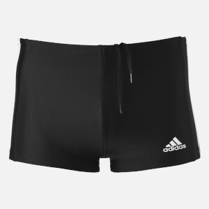 adidas Swim Men's Essentials 3 Stripe Boxers - Black