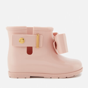 Mini Melissa Toddlers' Sugar Rain Bow 18 Boots - Blush