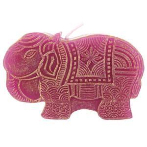 Small Purple Elephant Candle (12/24)
