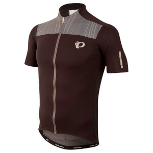 Pearl Izumi Elite Pursuit Short Sleeve Jersey - Black/Smoked Pearl Rush