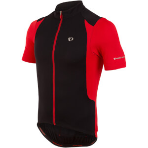 Pearl Izumi Select Pursuit Short Sleeve Jersey - Black/True Red