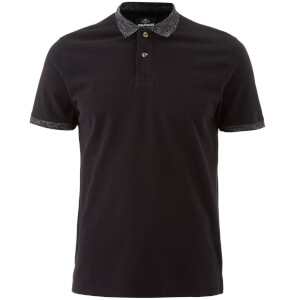 Polo Homme Compton Threadbare - Noir