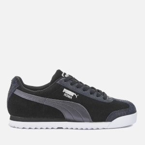 Puma Women's Roma Basic Metallic Safari Trainers - Puma Black/Puma Black