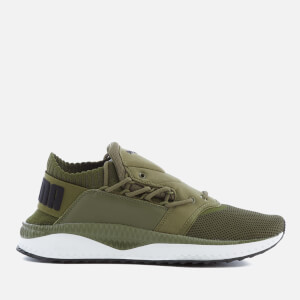 Puma Men's Tsugi Shinsei Trainers - Olive Night/Puma White