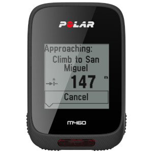 Polar M460 GPS-Fahrradcomputer – Schwarz