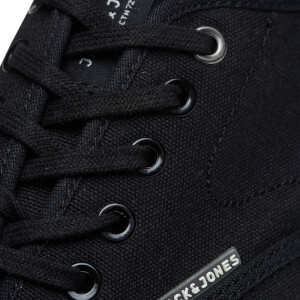 Chaussures Tennis en Toile Homme Scorpion Jack & Jones - Gris Anthracite: Image 8