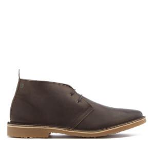 Chaussures Homme Jack & Jones Désert Gobi Cuir - Chocolat