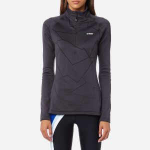 adidas Terrex Women's Icesky 2 Long Sleeve Fleece Jumper - Utility Black
