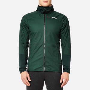 adidas Terrex Men's Skyclimb Fleece Jacket - Green Night
