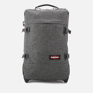 Eastpak Men's Authentic Travel Tranverz S Suitcase - Black Denim