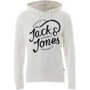 Jack & Jones Originals Men's Jolly Hoody - Cloud Dancer
