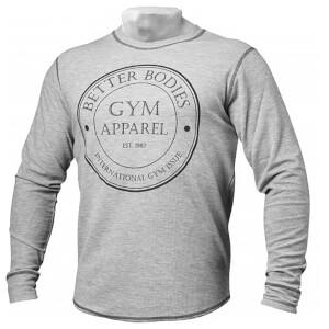 Better Bodies Tribeca thermal long sleeve - Greymelange