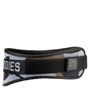 Better Bodies Basic Gym Belt - Green Camo
