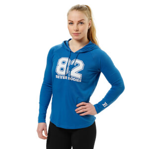 Better Bodies Varsity hoodie - Bright Blue