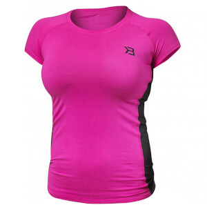 Better Bodies Performance Soft T-Shirt - Hot Pink