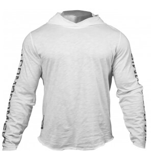 GASP No Compromise Hoody - White