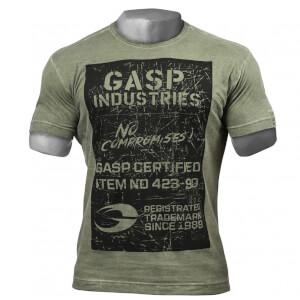 GASP Broad Street Print T-Shirt - Wash Green