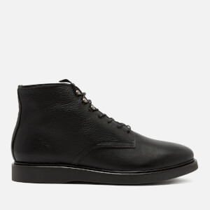 Hudson London Men's Aldford Leather Lace Up Boots - Black