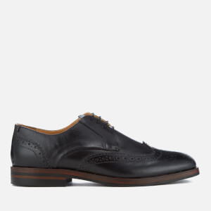 Hudson London Men's Osney Leather Brogues - Black