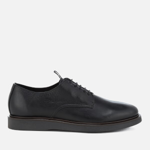 Hudson London Men's Killick Leather Derby Shoes - Black