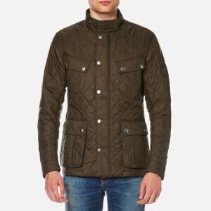 Barbour International Men's Ariel Quilt Jacket - Olive