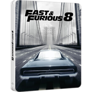 Fast & Furious 8 - Zavvi UK Exclusive Limited Edition Steelbook (Includes Digital Download)