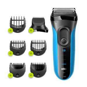 Braun Series 3 ProSkin 3010BT Electric Shaver, Blue