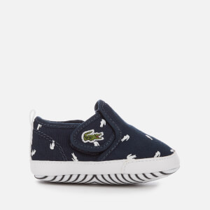 Lacoste Babies' Gazon Crib 116 2 Pumps - Navy/White