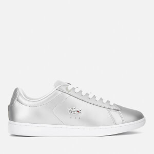 Lacoste Women's Carnaby Evo 117 3 Court Trainers - Light Grey