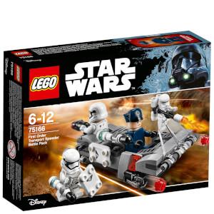 LEGO Star Wars: Pack de combat le Speeder de transport du Premier Ordre (75166)