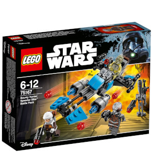 LEGO Star Wars: Pack de combat la moto speeder™ du Bounty Hunter (75167)