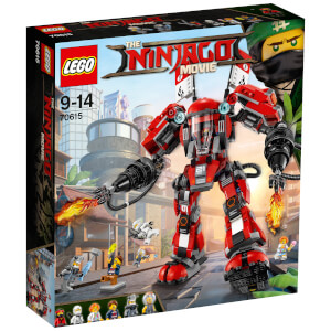 The LEGO Ninjago Movie: L'Armure de Feu (70615)