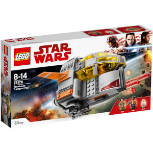 LEGO Star Wars Episode VIII: Résistance Transport Pod (75176)