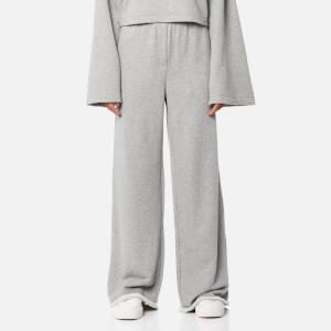 T by Alexander Wang Women's Pull On Wide Leg Pants - Heather Grey