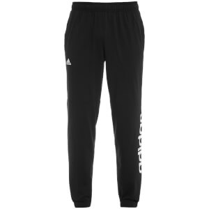 adidas Men's Essential Linear Panel Sweatpants - Black