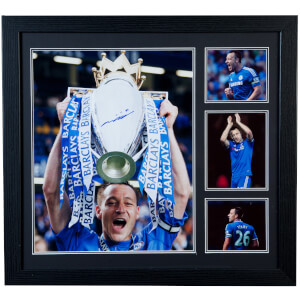 John Terry Signed and Framed 16 x 20 Photograph