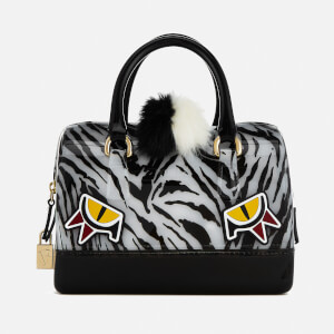 Furla Women's Candy Jungle Cookie Satchel Bag - Black