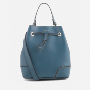 Furla Women's Stacy Small Drawstring Bag - Blue