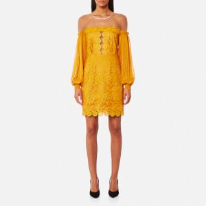Three Floor Women's Gardenia Dress - Saffron