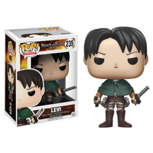 Attack on Titan Levi Funko Pop! Figuur