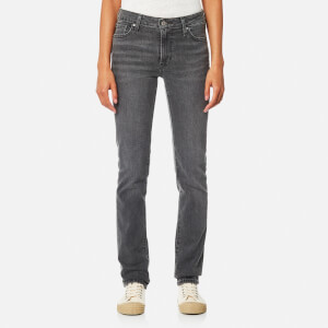 Levi's Women's 712 Slim Jeans - Worn Black/Grey