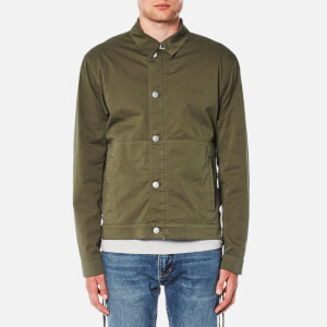Helmut Lang Men's Uniform Twill Jacket - Green