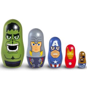 Marvel Avengers Plastic Nesting Dolls