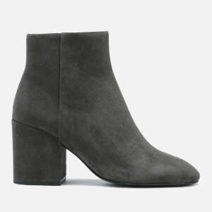 Ash Women's Eden Suede Heeled Ankle Boots - Bistro