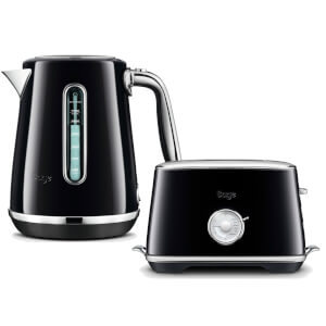 Sage by Heston Blumenthal BTA735SLQ The Toast Select Luxe 2 Slice Toaster & Kettle - Salted Liquorice