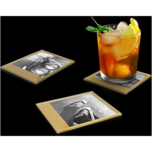 Photo Coasters – Retro Gold from I Want One Of Those