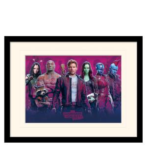 Affiche Encadrée Gardiens de la Galaxie Vol.2 (Personnages Vol. 2)